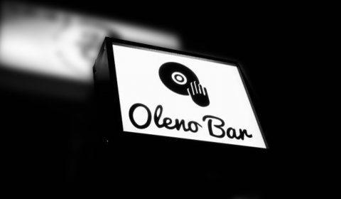 Oleno Bar (オレノ バー)看板